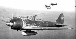 Dreaded Japanese Zero fighter